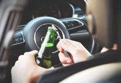 Jazda po alkoholu a przestępstwo